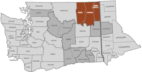 Northeast Washington Trends Map
